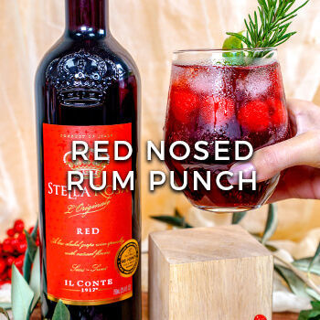 Red Nosed Rum Punch