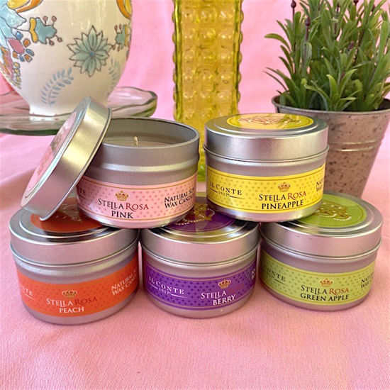 Stella Rosa® Spring Tin Soy Candles (5-Pack)